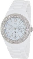 GUESS GUESS? Women's U0062L7 Plastic Quartz Watch with Dial