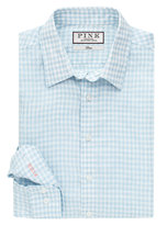 Thomas Pink Wallace Check Classic Fit Button Cuff Shirt