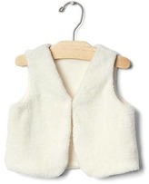 Gap Cozy button vest