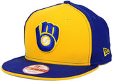 New Era Milwaukee Brewers Coop Flip 9FIFTY Snapback Cap