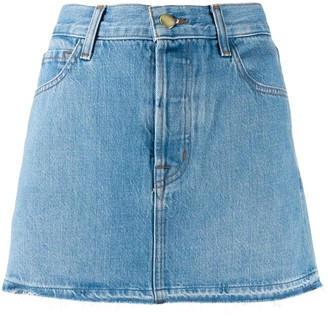 J Brand A-Line Denim Skirt