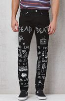 PacSun Dead Beat Skinniest Black Stretch Jeans