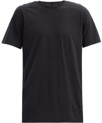 Rick Owens Level Crew-neck Cotton-jersey T-shirt - Black
