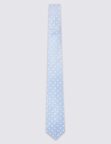 Limited Edition Pure Silk Spotted Tie
