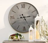 Pottery Barn Outdoor Galvanized Wall Clock