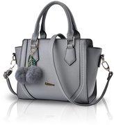 NICOLE&DORIS Women Casual Handbag Crossbody Shoulder Purse Tote Satchel Shopping Bag Faux Leather PU