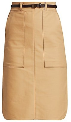 LVIR Pleasant Utility Cotton Pencil Skirt