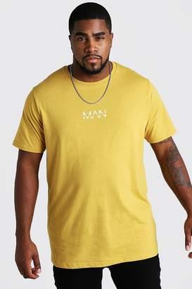 boohoo Big and Tall MAN Dash Longline T-Shirt