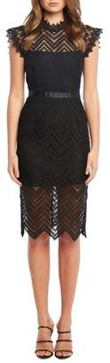 Bardot Imogen Lace Cocktail Dress