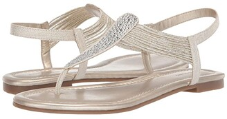 Bandolino Kayte Sandal (Gold) Women's Shoes