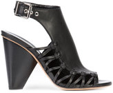 Derek Lam lace-up lateral buckled sandals - women - Calf Leather/Leather - 36
