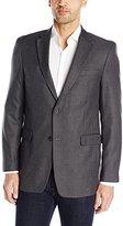 Tommy Hilfiger Men's Grey Check Sport Coat, Grey