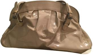 Marni Beige Patent leather Handbags