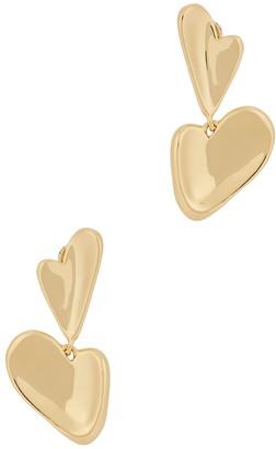 Jenny Bird Layla 14kt gold-dipped drop earrings