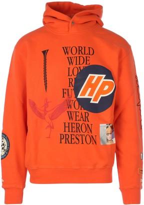 Heron Preston Hoodie Plain Collage