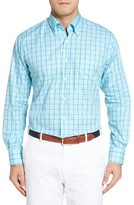 Peter Millar Men's Springtime Regular Fit Glen Check Sport Shirt