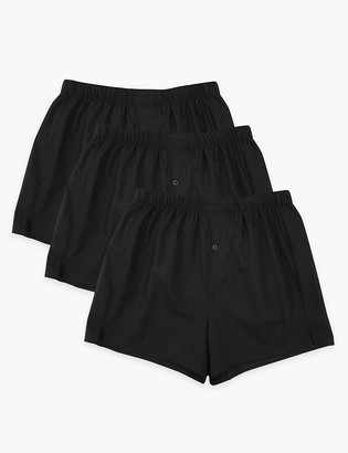 Marks and Spencer 3 Pack Cotton Boxers
