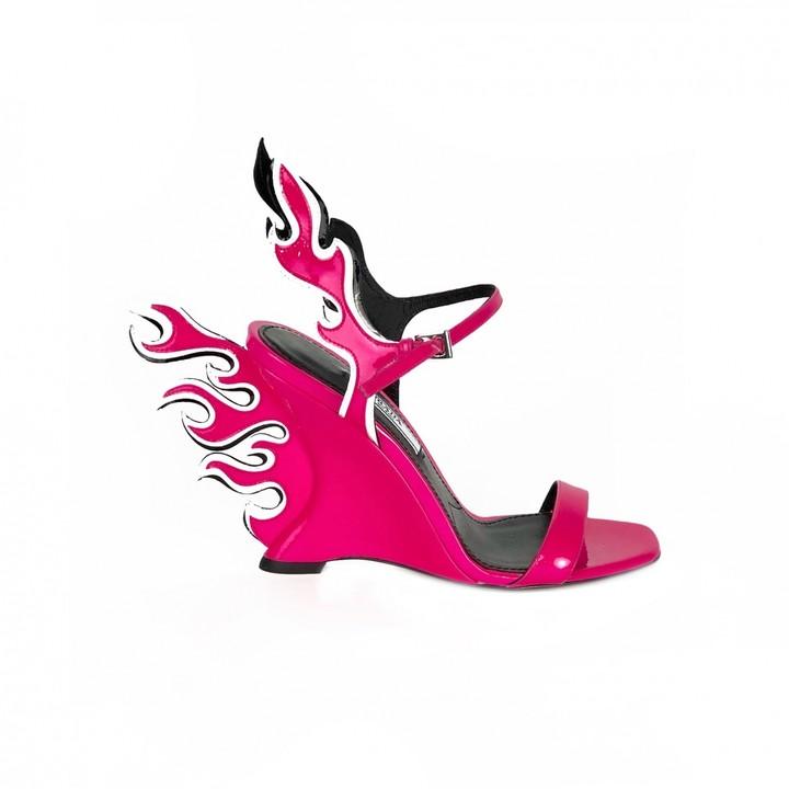 Prada Flame Shoes | Shop the world's