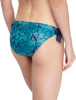 """Splendid span class=""""product-displayname""""]Floral Ombre Swim Bottoms, Teal[/span]"""