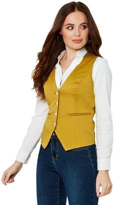 Joe Browns Cotton Waistcoat - Yellow