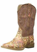 Roper Glitter Square Toe Cowgirl Boot (Infant/Toddler/Little Kid/Big Kid)