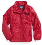 Patagonia Girl's Nano Puff Quilted Water Resistant Jacket