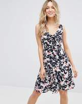 Sugarhill Boutique Poppy Floral Bow Dress