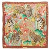 Salvatore Ferragamo Fauna Iconic Animals Silk Scarf