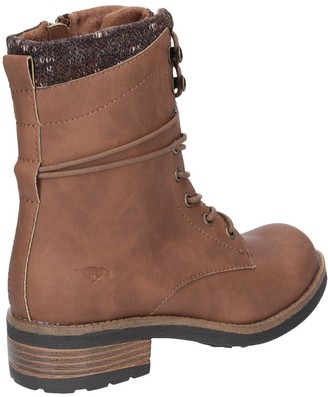 Rocket Dog Tayte Lace Up Ankle Boots - Walnut