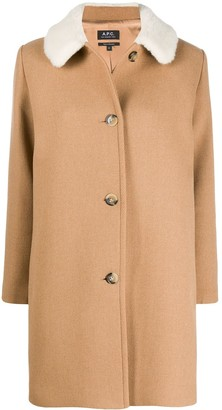 A.P.C. New Doll single-breasted coat