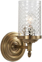 Visual Comfort & Co. Lita 1-Light Sconce, Antique Brass