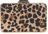 Sondra Roberts Sequin Leopard Clutch