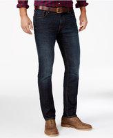 Tommy Hilfiger Men's Slim-Fit Dark Wash Jeans