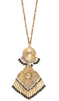 Etro Embellished medallion necklace