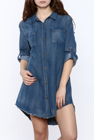 Lara Denim Button-Down Dress