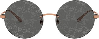 Dolce & Gabbana Eyewear Rimless Round-Frame Sunglasses