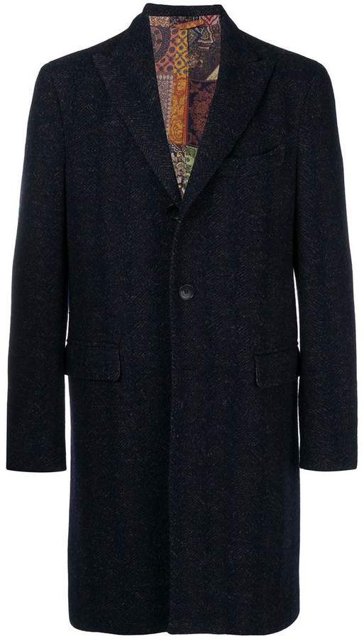 Etro single-breasted coat