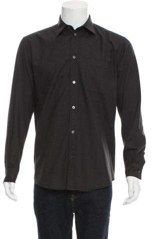 Louis Vuitton Flannel Button-Up Shirt