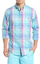 Vineyard Vines Men's North Hill Plaid Tucker Slim Fit Sport Shirt