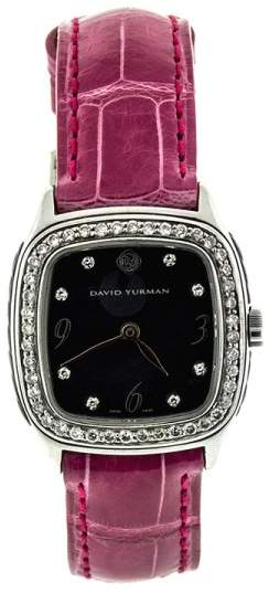 David Yurman Albion 27mm Silver Metallic Swiss Quartz Watch