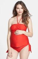 Maternal America Maternity Tankini Top & Bottoms