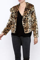 Chaser Furry Cheetah Coat