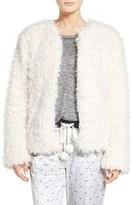 Kensie Women's Faux Fur Cardigan