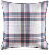 "Tommy Hilfiger Surf Plaid 20"" Square Decorative Pillow Bedding"
