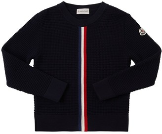 Moncler Wool Blend Knit Sweater