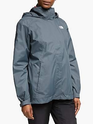 The North Face Evolve II Triclimate 3-in-1 Waterproof Women's Jacket, Vanadis Grey/Radiant Orange