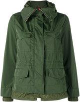 Moncler hooded parka jacket