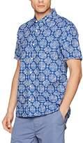 Fat Face Men's Abbingdon Print Casual Shirt