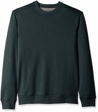 Van Heusen Men's Flex Sweater Fleece Crewneck Pullover Sweatshirt