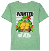 JEM Teenage Mutant Ninja Turtles - Wanted for Being Rad Graphic T-Shirt (Toddler & Little Boys)